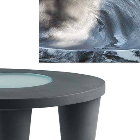 Slide LOW LITA Side-Table ANNIVERSARY In-Outdoor