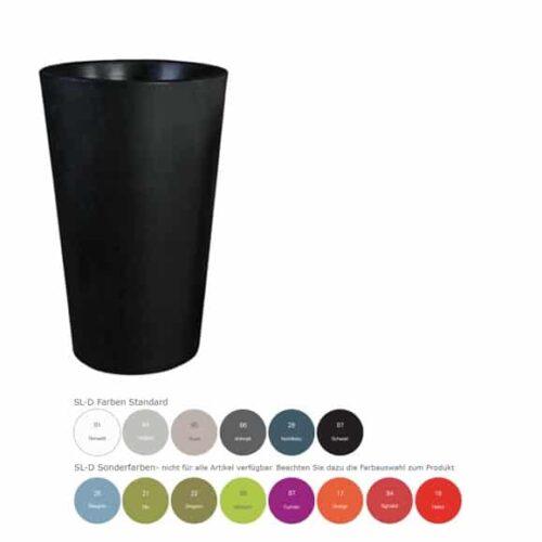 Slide X-POT Pflanzgefäß 5 Größen bis 135 cm In-Outdoor