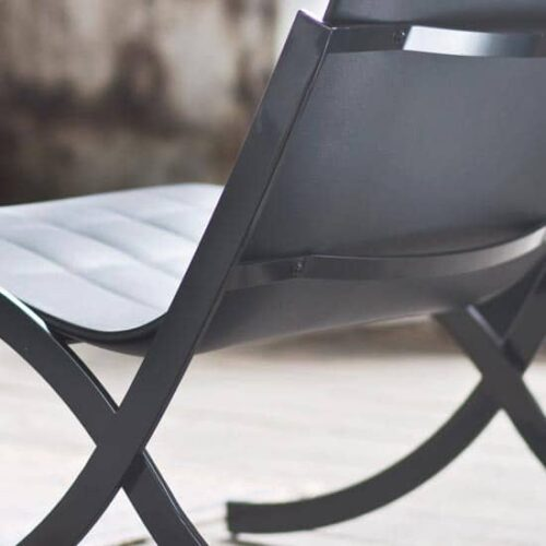 Serralunga BARCELONETA Lounge-Sessel 76 cm b, In-Outdoor