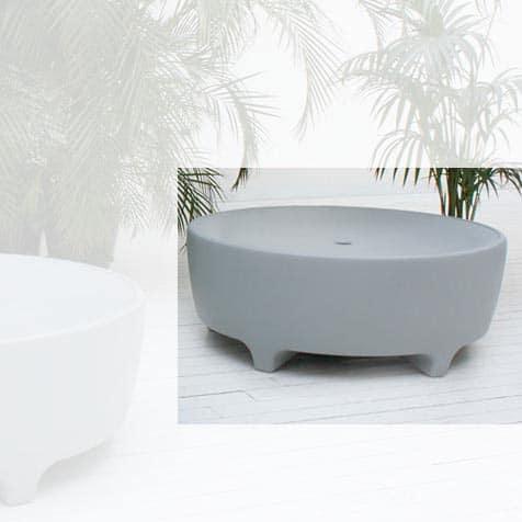 Serralunga OASIS Pouf Designer Sitzbank rund Ø 115 cm In-Outdoor