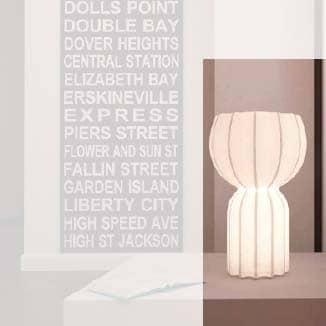 Slide CUCUN LED Tischleuchte 58 cm Indoor