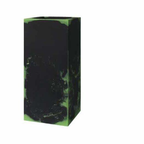 Pflanzkasten E3P-STYLE CUBE-High-Q  BIcolor 30x30x70 cm h
