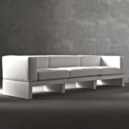 Serralunga HOUR DIVANO Design SOFA 3-sitzig inkl. Armlehnen