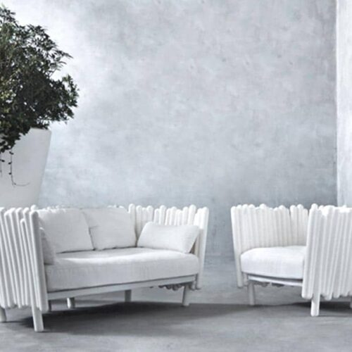 Serralunga CANISSE SOFA oder Sessel In-Outdoor