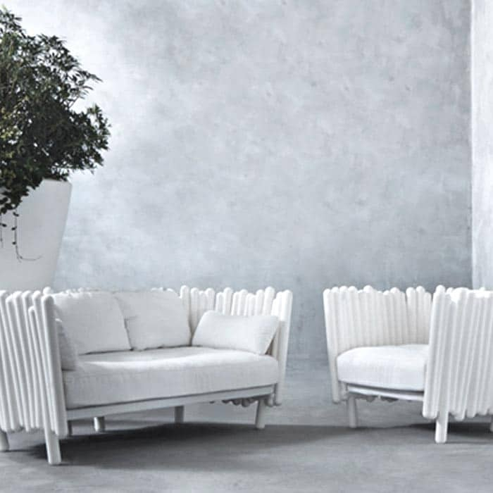 serralunga canisse design sofa in outdoor retreat mit naturcharme