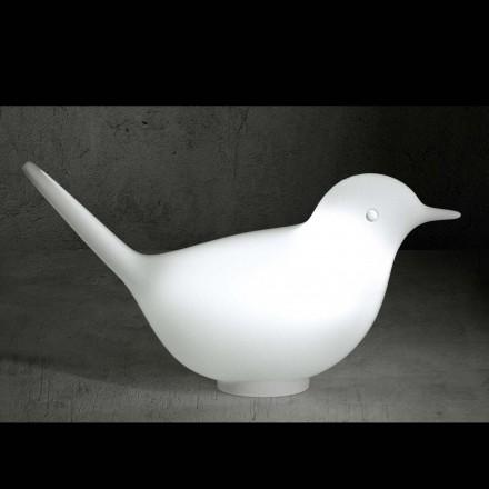 Serralunga PULCINO LED-LIGHT (Sitz-) Vogelskulptur 80 cm b, In-Outdoor