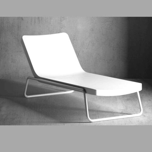 Serralunga TIME OUT CHAISE LONGUE RECL. Relax Liege In-Outdoor