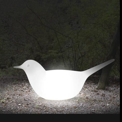 Serralunga PALOMA LIGHT Vogelskulptur Taube / Möwe In-Outdoor