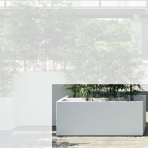 Pflanzkasten E3P-Style CUBE-Long-L 100x40x40 cm h