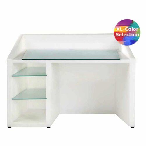 Slide KANAL Desk, Design Schreibtisch, Farbwahl, In-Outdoor
