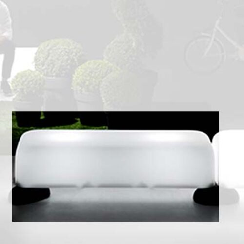 PLUST MOMO BENCH LIGHT Sitzbank-Modul In-Outdoor