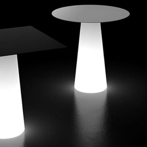 PLUST FURA DINING TABLE RGB-LED AKKU LIGHT (kabellos) In-Out