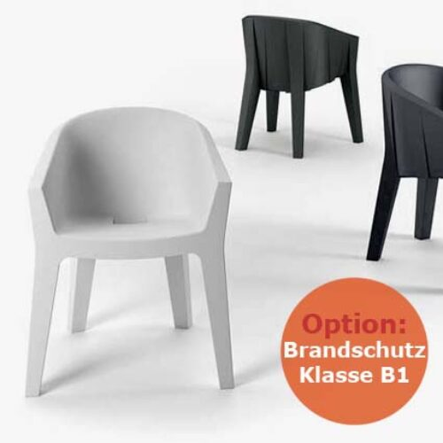 PLUST FROZEN CHAIR B1, schwerentflammbar, In-Outdoor