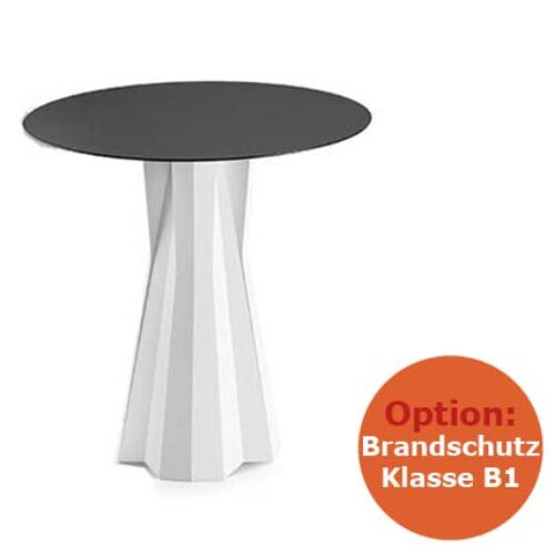 PLUST FROZEN DINING TABLE B1 Tisch Struktur schwerentflammbar, In-Outdoor