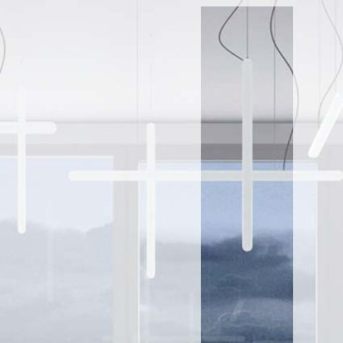 Slide STILETTO-Y LED Pendelleuchte vertikal 80 oder 120 cm