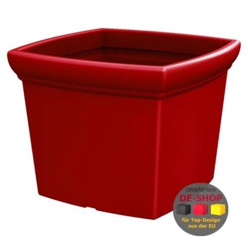 XL Pflanzkasten POÉTIC-AZUR CARRÉ 100 quadratisch,18 Farben, In-Outdoor